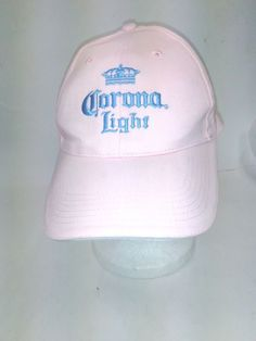 Extra Off Coupon So Cheap Corona Light Hat Cap Mexican Mexico Beer Pink  Adjustable 040524a260d0