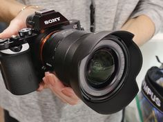 Sony Alpha A7S http://fusioncine.com/sales/cameras/sony-alpha-a7s-mirrorless-digital-camera.html