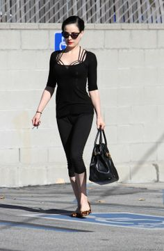 Dita von tesse. Such a great influence about body image