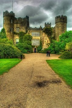 Malahide Castle, Ireland. Interesting history of Talbot family.