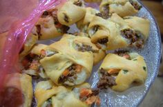 Use Ortega taco seasoning in this tasty recipe for Taco Pockets.  Perfect appetizer that everyone will love! www.ortega.com