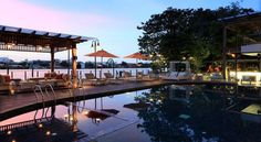 Hotel Facilities – Swimming Pool and Fitness Room | Riva Surya - Bangkok