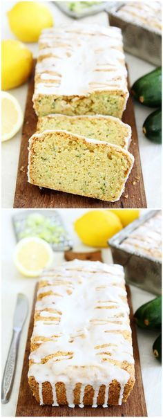 Lemon Zucchini Bread Recipe on twopeasandtheirpod.com The BEST zucchini bread recipe! You have to try this one!