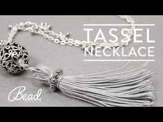 Learn How-To Make A Tassel Necklace with Natalia - Bead House - YouTube