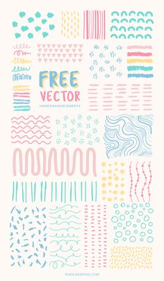 Grab free vectors of minimal pattern in pastel at rawpixel.com Web Design Tutorial, Pattern Design, Graphic Design Posters, Graphic Design Inspiration, Hight Light, Branding Design, Logo Design, Powerpoint Design Templates, Quiz