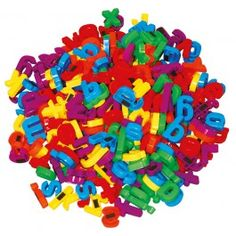 Magnetic Letters lowercase  Set of 288