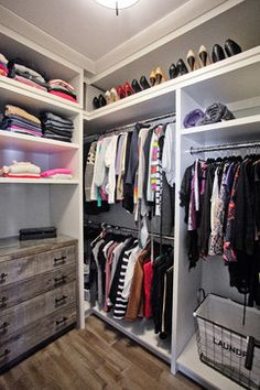Custom Waterfront Home Barrie - transitional - Closet - Toronto - Madison Taylor