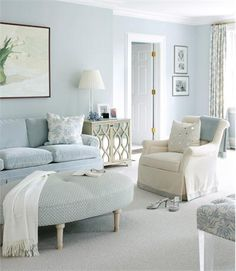 Lighter colors help expand space by making walls appear further away. Likewise, glossy sheens reflect light and seem to push walls outward. @Lauren Muse