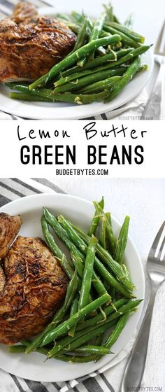 Lemon Butter Green Beans are the perfect go-to all-purpose side dish with a fresh and vibrant flavor.