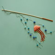 DIY Cat Toy: Jiggly Jellyfish