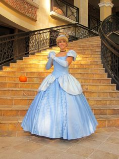 Cinderella Costume by PrestigeCouture on Etsy https://www.etsy.com/listing/180714812/cinderella-costume