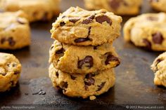 If you have never heard or tried these cookies that are made with peanut butter, chocolate chips and chickpea, you should give it a go, and you will be surprised by how delicious these sweets are.