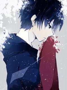 anime boy and kisaragi shintaro image