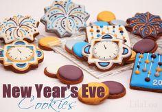 LilaLoa: New Year's Eve Cookies