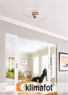 Η μοντέρνα πλαφονιέρα οροφής με φωτισμό LED , θα προσφέρει μια μοναδική αίσθηση που θα ενισχύσει το στιλ του χώρου σας. Ιδανικό για την τραπεζαρία, την κρεβατοκάμαρα και το σαλόνι σας.   #LED #InteriorDesign #LuxuryDecoration #LightingFixture #Klimafot Outdoor Decor, Home Decor, Home, Decor
