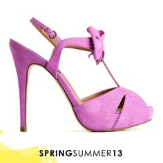 Love at first sight <3  #pink #shoes #bow