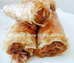 Greek Desserts, Spanakopita, Sweet Home, Pie, Pumpkin, Ethnic Recipes, Greece, Food, Sweet Recipes