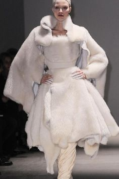What Val the Wildling Princess would wear, Gareth Pugh