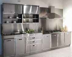 Captivating Metal Kitchen Cabinets Ikea