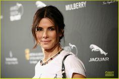 Celeb Diary: Sandra Bullock @ 2014 BAFTA LA Awards Season Tea Party