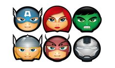 Free Avengers icon set