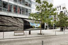 Mémoire d'avenir, par Pierre Delavie, sur l'immeuble l'Angle à Boulogne-Billancourt