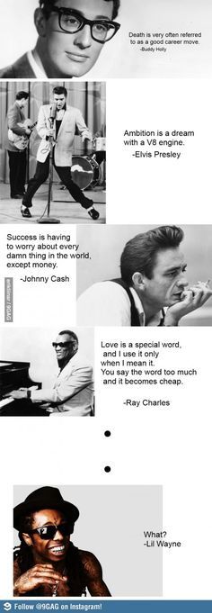 Inspirational quotes by musicians