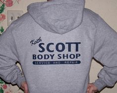 Keith Scott Body Shop hoodie - One tree Hill