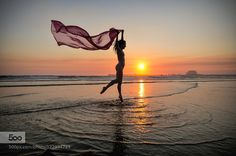 beach dancing at sunset - Pinned by Mak Khalaf Silhouette of a dancer on Matosinhos Beach in Porto Portugal at sunset. Performing Arts Atlantic OceanMatosinhosPortoPortugalPraia de Matosinhosbeachdancedancergirloceanreflectionripplesseasilhouettesunsetwaterwoman by gailatlarge