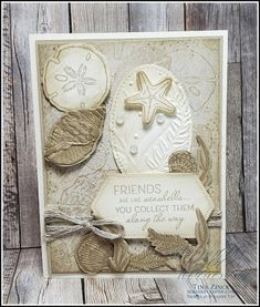Simply Stamps, Nautical Cards, Beach Cards, Sea Theme, Friends Are Like, Friendship Cards, Ocean Themes, Sympathy Cards, Stamping Up