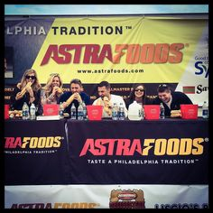 Cheesesteak eating contest. #PatTurns30