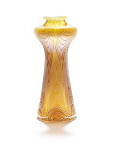 Loetz  An Art Nouveau Iridescent Glass Vase, circa 1900
