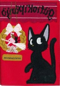 Kiki's Delivery Service 2015 Schedule Book $17.50 http://thingsfromjapan.net/kikis-delivery-service-2015-schedule-book/ #kiki's #kiki's delivery service #gigi #jiji #jiji cat #cute anime items