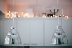 ° metallic lampshades, diy&2nd hand project // modernekohome °