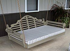 Porch swing beds offer unimaginable comfort just outside your front door, deck, or patio. Ideal for porches, screen porches, lanais, or even indoors, a bed swing offers appeal and relaxation opportunities. We even found one that easily converts to a porch swing. Get access to the most ideal swing beds.