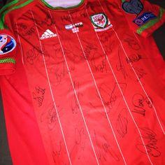 Wales match shirt 2015