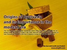 Ayurveda andn its importance