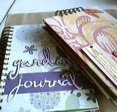 Handmade Journals   Garden Journals