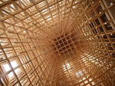 Kengo Kuma & Associates, Daici Ano · GC Prostho Museum Research Center. Kasugai-shi, Japan
