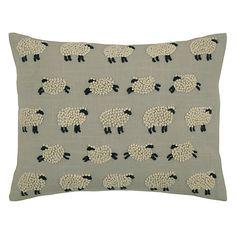 Buy John Lewis Sheep Cushion Online at johnlewis.com                                                                                                                                                                                 More