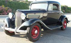 1933 Chevrolet Standard Mercury Coupe