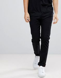46ba7e2f Shop Diesel Thommer stretch slim fit jeans in stay black at ASOS.