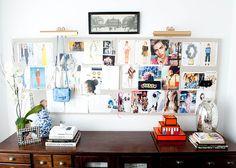 [ Katherine's inspiration board -- I need those lamps I think! ] smallshopstudio.com