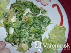 Cesnaková brokolica so syrovou omáčkou