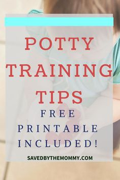 Are you potty training your toddler? Do you need some help? Read more for a few tips on potty training plus a free printable.