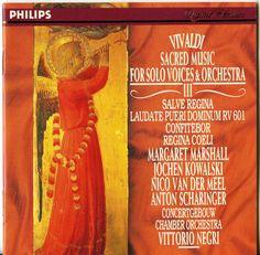 Vivaldi Sacred Music For Solo Voices & Orchestra Vol 3 Vittorio Negri
