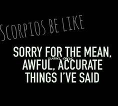"""I ain't sorry"""