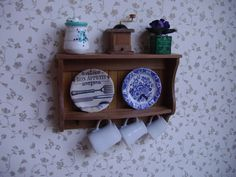 ♡ ♡ Shelf Platero. Dollhouse Miniature por miniaturasmjose
