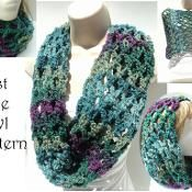 First Love Cowl & 2 More Scarves - via @Craftsy