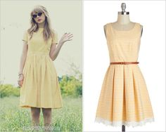 GET THE LOOK: ModCloth 'Shining Through Dress' - $92.99